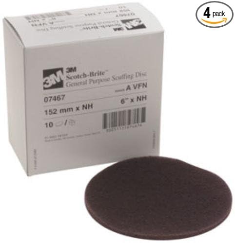 10/BX G.P. Scuff Discs (3M-7467)