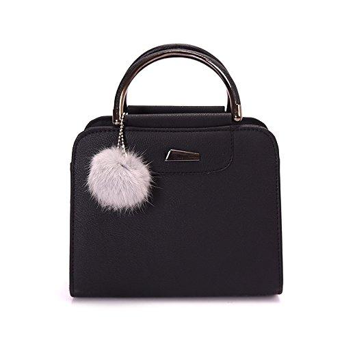 en à main Bolsa grandes cuir épaule 30cm Messenger Nouveau Gris qualité Hot haute à de 20cm Ball sac Sacs d'occasionnels de PU Sacs Femmes main Sale femmes Sac tw5HnSfqHZ