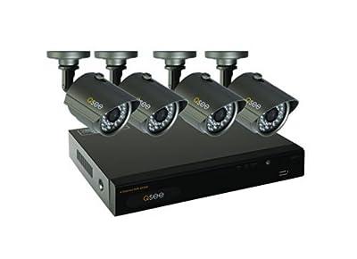 Q-See QT534-5 4-Channel Full D1 Smart Recording 500GB Hard Drive DVR