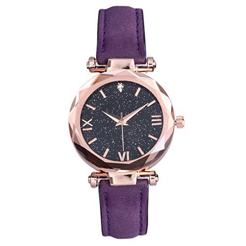 - Ladies Watch Star Sky Watch Magnetic Strap Watch Women's Wrist Watch with Analogue Display Watch Wrist Watches for Girl/Women,G