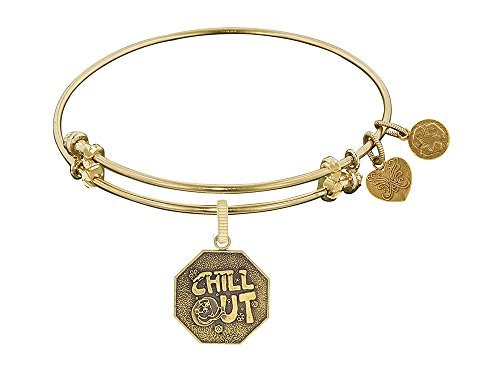 Angelica Collection Chill Out Charm Expandable Bangle -