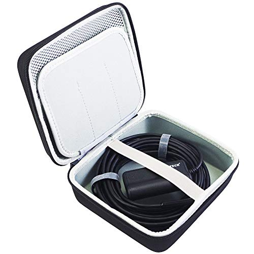 Accessories Borescope (COMECASE Hard Carrying Case Compatible with Depstech WiFi & USB Endoscopes and Goodan, Shekar, Pancellent, Fantronics, Sokos, MiluoTech More Borescope/Accessories Pockets for Side View Mirror)