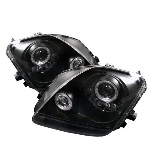 Honda Prelude Headlamp (Spyder Auto Honda Prelude Black Halogen Projector Headlight)