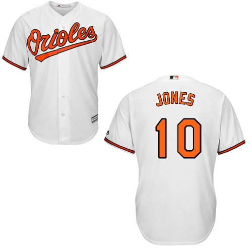 - Adam Jones Baltimore Orioles YOUTH 2015 Cool Base Home Jersey (Large)