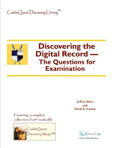 Discovering the Digital Record -- The Questions for Examination (Castlequest)