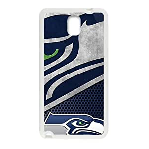 Seattle Seahawks Fashion Comstom Plastic case cover For Samsung Galaxy Note3