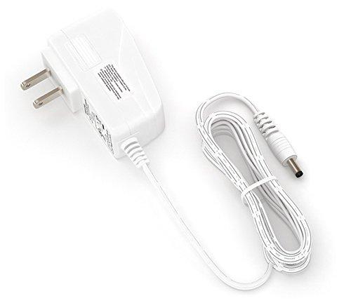EShine 12 Watt 12V DC Power Supply Adapter for LED Under Cabinet Lighting (White)