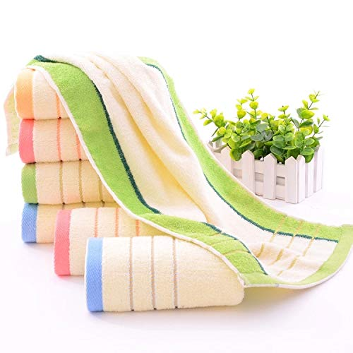 ThuyTienStore 3PcsLot New Soft 100% Cotton Face Towels Quick-Drying Hand Towels Salon Towels for Adults Home Textile