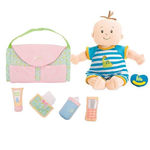 The Manhattan Toy Company Doll Boy & Darling Diaper Bag Mult