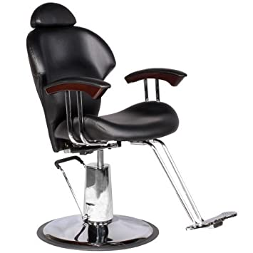 Reclining Black Hydraulic Multi-Purpose Styling Chair Salon Equipment MP-30 BLK  sc 1 st  Amazon.com & Amazon.com : Reclining Black Hydraulic Multi-Purpose Styling Chair ...