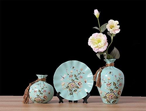 RUIX European Style Living Room Creative Ceramic Vase TV Wine Cabinet Decorations Home Decoration Room Crafts,B