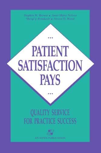 Patient Satisfaction Pays