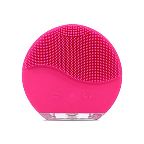 MAMaiuh Electric Silicone Facial Cleaning Brush- Waterproof USB Rechargeable Massager Brush Skin Care Wash Cleansing Device Beauty Facial for Sensitive, Delicate, Dry Skin and so o All Skin Types (HT)