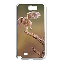 Hard Back Cover Shell Phone Case Bird On The Tree Case For Samsung Galaxy Note 2 N7100
