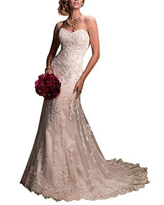 Bettertime Mermaid Long Backless Wedding Dresses Appliqued Women Wedding Gowns