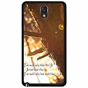 If We Could Only TPU RUBBER SILICONE Phone Case Back Cover Samsung Galaxy Note III 3 N9002