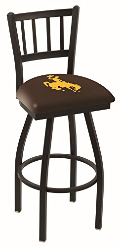 """Holland Bar Stool Co. L01825Wymng Officially Licensed L018 University Of Wyoming 25"""" Swivel Counter Stool"""