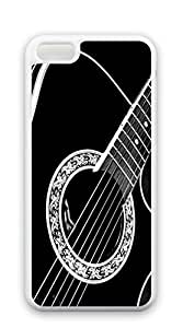 Cute Cartoon Back Cover iphone 5c case for boys - Guitar details