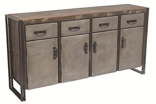 Moti Furniture Allison 4 Door Buffet with 4 Drawers