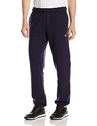 Champion Mens Standard Powerblend Relaxed Bottom Fleece Pant