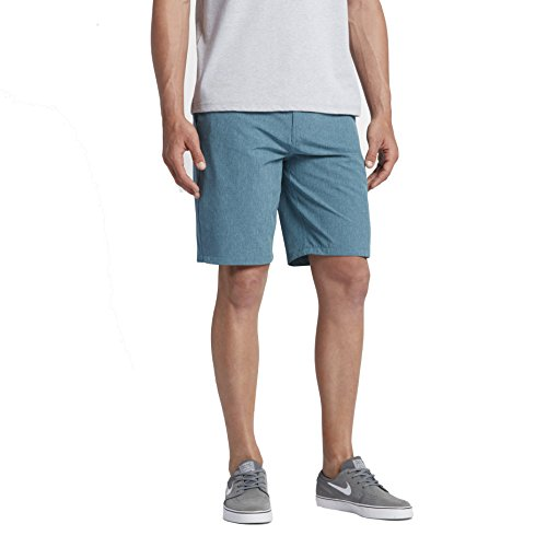 Hurley Phantom Boardwalk Walkshorts Smokey Blue 32 Mens Shorts