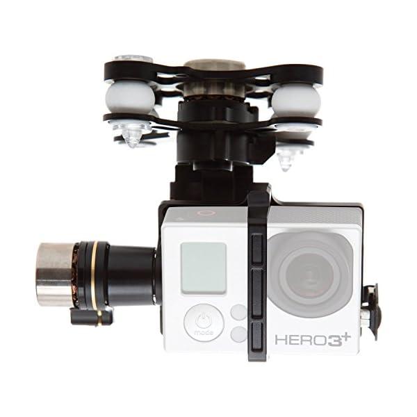 DJI Zenmuse H3-3D 3-Axis Gimbal for GoPro Hero3 GoPro Hero3+ Camera, -130 - +45deg. Controlled Rotation Range, ±130deg./s Rotation Speed (Phantom 2 version) 1