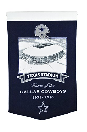 (Winning Streak NFL Dallas Cowboys Texas Stadium Banner)