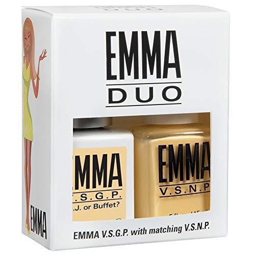 EMMA V.S.G.P. D.J. or Buffet?, Gel & Nail Polish DUO (pack of 2)