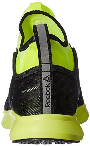 Reebok Bd4864, Zapatillas de Trail Running para Hombre Amarillo (Solar Yellow / Black)