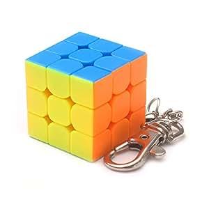 Amazon.com: Domccy Mini 11,930.315 in llavero Cubo Jade ...