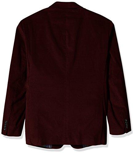 U.S. Polo Assn. Men's Big and Tall Corduroy Sport Coat, Bordeaux, 56 Regular by U.S. Polo Assn. (Image #2)