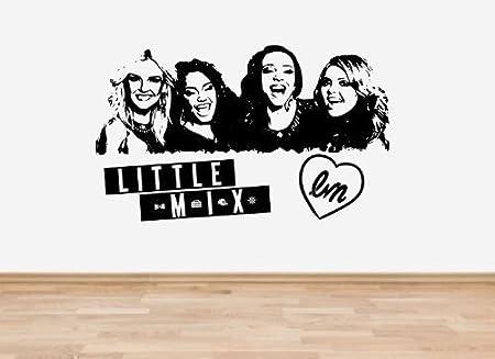 """little mix vinyl sticker 5/"""" high also in black"""