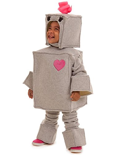 Princess Paradise Kids Rosalie The Robot Costume, 18m/2 Tall, Gray
