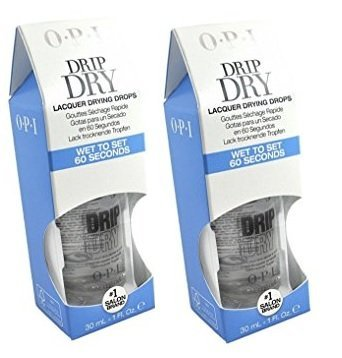 (Drip Dry Lacquer Drying Drops With FREE Dropper easy to use | size 1 fl oz / 30 ml)