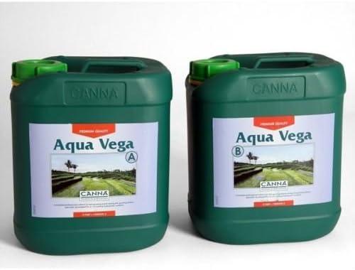canna aqua vega a + B 10 litros: Amazon.es: Jardín