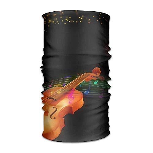 Magic Multi Function Headbands Violin Color Music Notes Daily Including Turban Headwear Headwrap Face Sun Mask Headdress Head Neck Scarf Cap for Women and Men Headscarfs]()