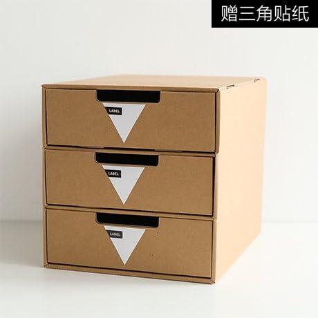 zxing Caja De Almacenamiento De Papel Kraft, Caja Clasificación ...