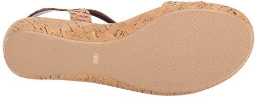 Multi Elayne Cork Grata Women's Cork VANELi Natural Flat Sandal X5qIRX8xw