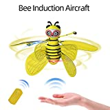 Zitainn Bee Induction Aircraft, Infrared Sensing Hand Sensor Portable Led Light,8 Mins Fight Time RC Drone