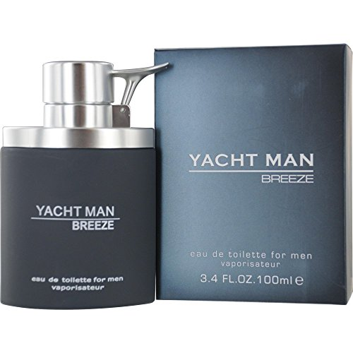 Price comparison product image Myrurgia Yacht Man Breeze Eau de Toilette Spray for Men,  3.4 Ounce