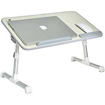Portable Adjustable Variable Height Laptop Stand/Desk/Table For Use On Bed,  Couch