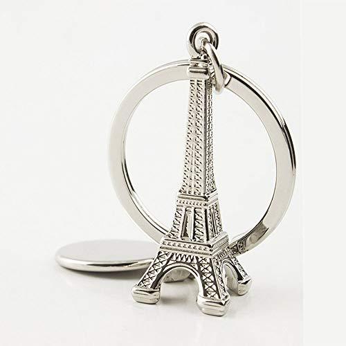 Wpeng Lovely decoration 3D souvenir key chain in Paris the Eiffel Tower in ()