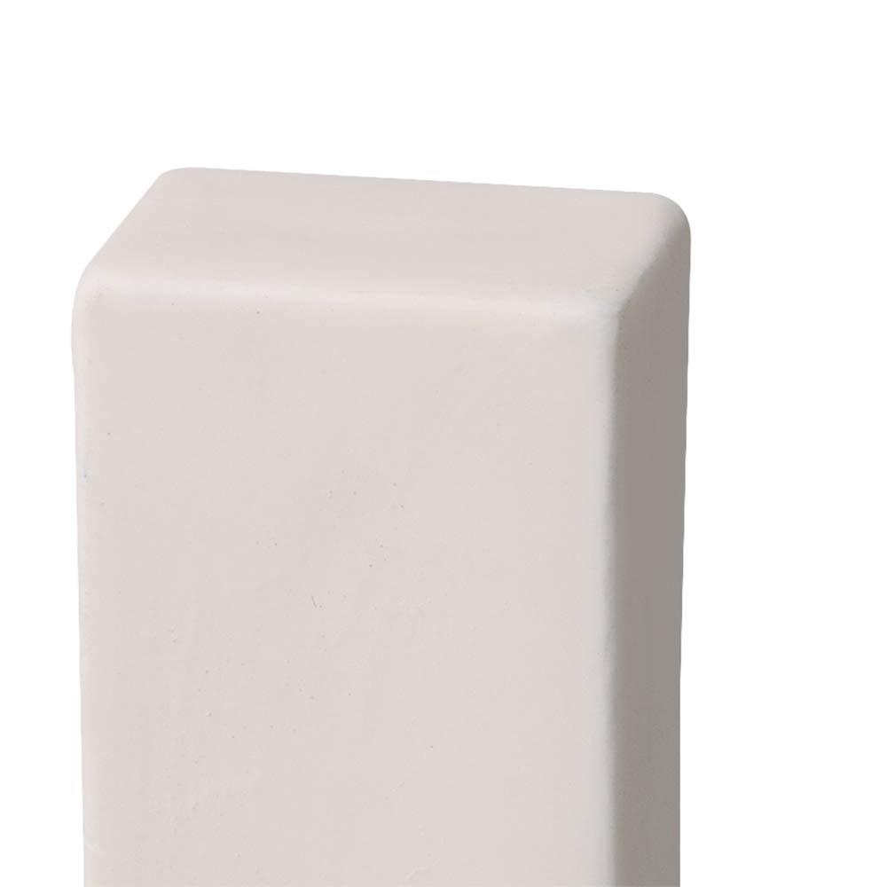 M7190806084 blanco Yibuy Alumina Crucible para mufla o tubo de capacidad de horno