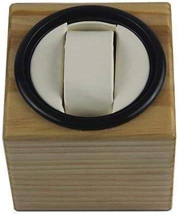 自動時計ワインダー収納ボックス、木製自動回転時計ワインダー収納ケースディスプレイボックス、1 + 0