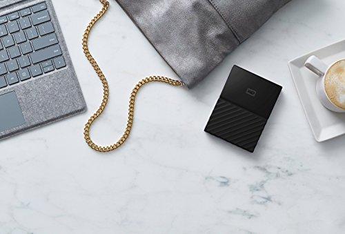 WD 3TB Black My Passport Portable External Hard Drive - USB 3.0 - WDBYFT0030BBK-WESN