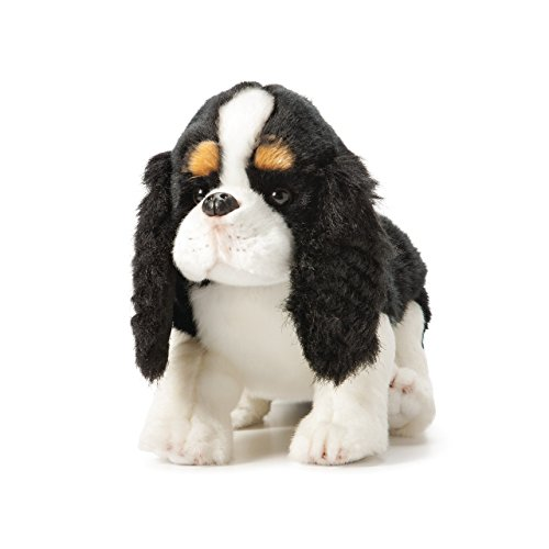 Nat and Jules Large Cavalier King Charles Spaniel Onyx Children's Plush Stuffed - Cavaliers Plush