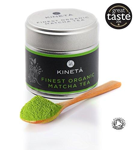 FINEST ORGANIC MATCHA GREEN TEA   Japanese matcha tea   Finest vibrant...