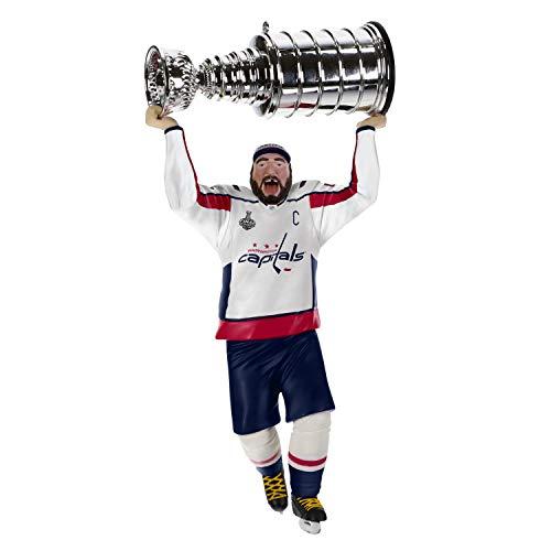 Hallmark Keepsake Christmas Ornament 2019 Year Dated NHL Washington Capitals Stanley Cup MVP Alex Ovechkin Hockey Player (Christmas Alex)
