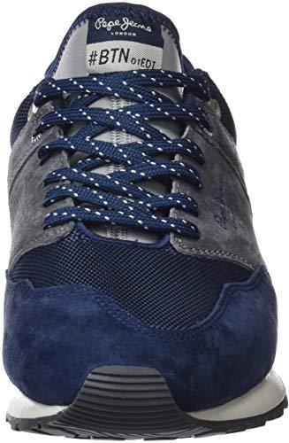 7c53cb429e6 Pepe Jeans Men s Btn Treck Pack Trainers  Amazon.co.uk  Shoes   Bags