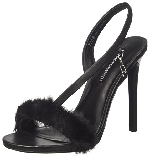 Windsor Smith Damen Carolina Peeptoe Sandalen Nero (Black Black)